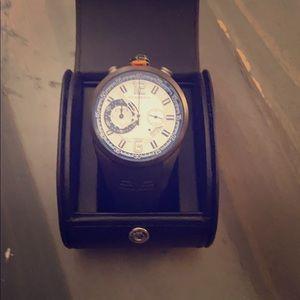 A Swiss timepiece with German design